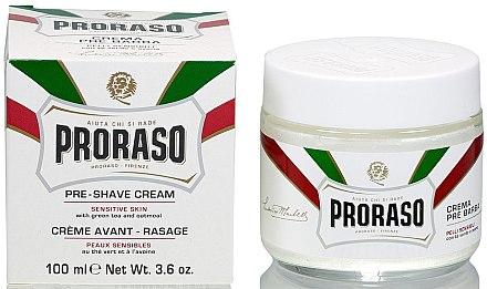Крем преди бръснене, за чувствителна кожа - Proraso White Pre Shaving Cream — снимка N2