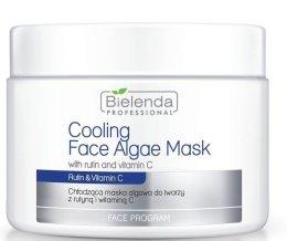 Парфюмерия и Козметика Алгинатна маска за лице с витамин С - Bielenda Professional Cooling Face Algae Mask