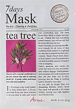 """Парфюмерия и Козметика Маска за лице """"Чаено дърво"""" - Ariul 7 Days Mask Tea Tree"""