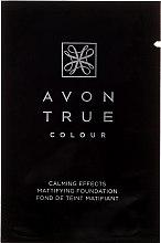 Парфюми, Парфюмерия, козметика Фон дьо тен - Avon True Colour Mattifying Foundation (мостра)