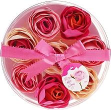 """Парфюмерия и Козметика Конфети за вана """"Роза"""", 8 бр. - Spa Moments Bath Confetti Rose"""