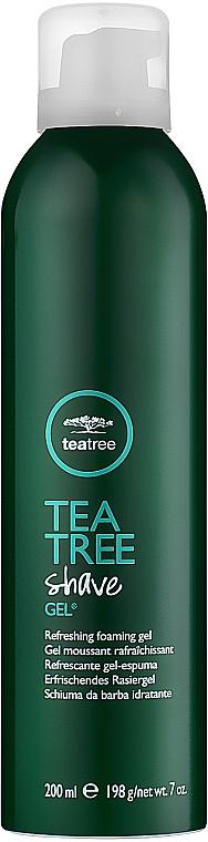 Гел за бръснене - Paul Mitchell Tea Tree Shave Gel — снимка N1