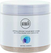 Парфюми, Парфюмерия, козметика Захарен пилинг за тяло - Naturativ Hypoallergenic Body Sugar Scrub