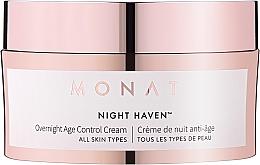 Парфюмерия и Козметика Антистареещ нощен крем за лице - Monat Night Haven Overnight Age Control Cream