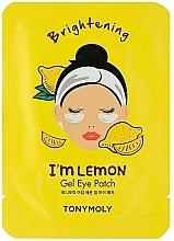 Парфюмерия и Козметика Хидрогелни пачове за очи с екстракт от лимон - Tony Moly Refreshing Im Lemon Eye Mask