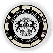 Парфюмерия и Козметика Моделиращ крем за коса - Dear Barber Shaping Cream (mini)