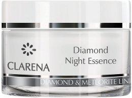 Парфюми, Парфюмерия, козметика Диамантен нощен крем - Clarena Anti Age De LUX Line Diamond Night Essence