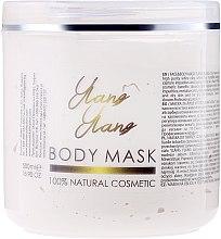 """Парфюми, Парфюмерия, козметика Маска за лице и тяло """"Иланг-иланг"""" - Hristina Cosmetics Sezmar Professional Body Mask Ylang Ylang"""