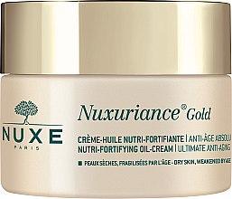 Парфюми, Парфюмерия, козметика Обогатен подхранващ крем за суха кожа - Nuxe Nuxuriance Gold Nutri-Fortifying Oil-Cream