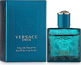 Парфюми, Парфюмерия, козметика Versace Eros - Тоалетна вода ( мини )