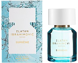 Парфюмерия и Козметика Zlatan Ibrahimovic Supreme Pour Femme - Тоалетна вода