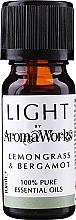 Парфюмерия и Козметика Етерично масло от лимонова трева и бергамот - AromaWorks Light Range Lemongrass and Bergamot Essential Oil