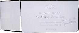 Парфюмерия и Козметика Фиксираща пудра за лице - Pur 4-in-1 Loose Setting Powder