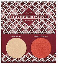 Парфюмерия и Козметика Палитра хайлайтъри - Zoeva Spice Of Life Highlighting palette