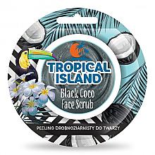 Парфюми, Парфюмерия, козметика Изглаждащ фин скраб за лице - Marion Tropical Island Black Coco Face Scrub