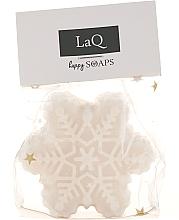 """Парфюмерия и Козметика Ръчно изработен натурален сапун """"Снежинка"""", с аромат на коледни бисквитки - LaQ Happy Soaps Christmas Gingerbread"""