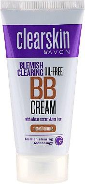 """Тонален хидратиращ крем за лице """"За проблемна кожа"""" - Avon Clearskin Blemish Clearing"""