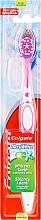 Парфюмерия и Козметика Четка за зъби - Colgate Max White Medium With Polishing Star