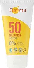 Парфюми, Парфюмерия, козметика Слънцезащитен лосион - Derma Sun Lotion SPF50