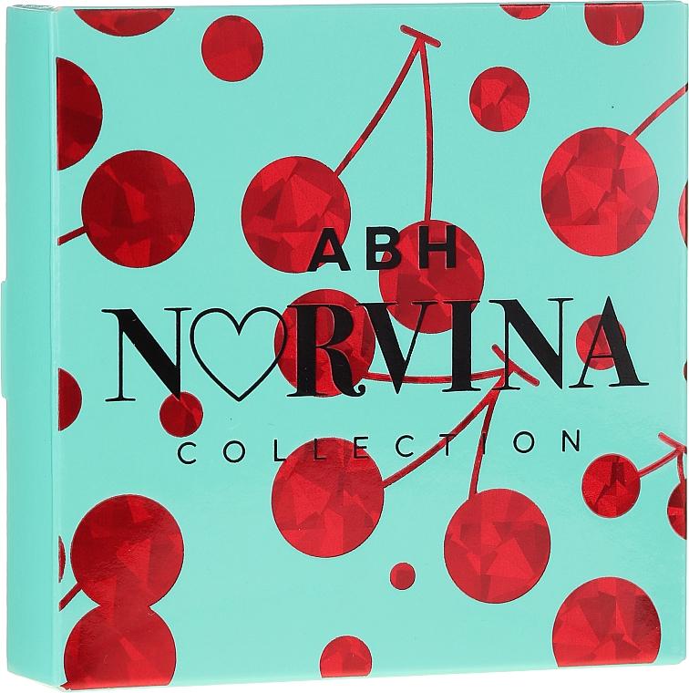 Палитра сенки за очи - Anastasia Beverly Hills Norvina Pro Pigment Mini №3 — снимка N2