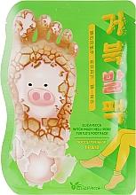 Парфюмерия и Козметика Ексфолиращи маска-чорапи за крака - Elizavecca Witch Piggy Hell-Pore Turtles Foot Pack