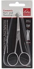 Парфюмерия и Козметика Ножица за подстригване на косъмчета в носа и брада, 10.5см, 924480 - Erbe Solingen