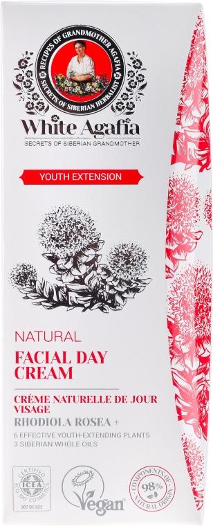 """Дневен крем за лице """"Удължете младостта"""" 35-50 години - Рецептите на баба Агафия White Agafia"""
