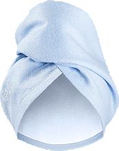 Парфюмерия и Козметика Кърпа-тюрбан за коса, синя - Glov Hair Wrap