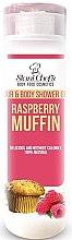 Парфюми, Парфюмерия, козметика Душ гел за тяло и коса - Stani Chef's Hair And Body Shower Gel Raspberry Muffin
