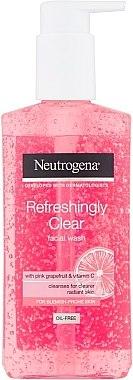 Измиващ гел за лице - Neutrogena Visibly Clear Pink Grapefruit Facial Wash