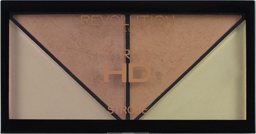Палитра с хайлайтъри - Makeup Revolution HD Pro Strobe Revolution — снимка N2