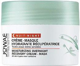 Парфюми, Парфюмерия, козметика Крем-маска за лице - Jowae Moisturizing Overnight Recovery Cream-Mask