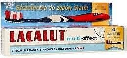 """Парфюмерия и Козметика Комплект за зъби """"Multi-Effect"""" - Lacalut (паста/75ml + четка)"""