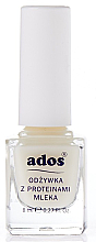 Парфюмерия и Козметика Балсам за нокти с млечен протеин - Ados