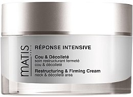 Парфюмерия и Козметика Крем за шия и деколте - Matis Reponse Intensive Restructuring & Firming Cream