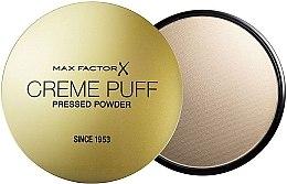 Парфюмерия и Козметика Компактна пудра за лице (без гъбичка) - Max Factor Creme Puff Pressed Powder