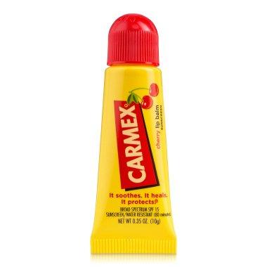 "Балсам за устни в тубичка ""Cherry"" - Carmex Cherry Lip Balm — снимка N3"