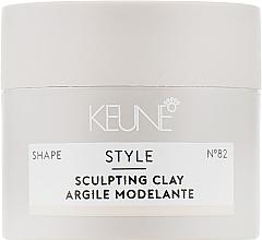 Парфюмерия и Козметика Скулптуриращ гел за коса №82 - Keune Style Sculpting Clay (мини)