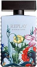 Парфюмерия и Козметика Replay Signature Secret - Тоалетна вода (тестер без капачка)