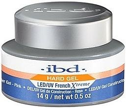 Парфюмерия и Козметика Гел за нокти, розов - IBD French Xtreme Pink Gel