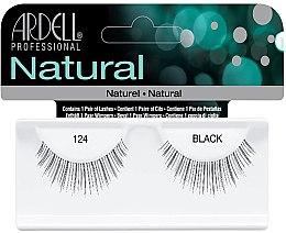 Парфюми, Парфюмерия, козметика Изкуствен и мигли - Ardell Natural Lashes 124 Black