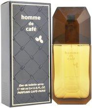 Парфюми, Парфюмерия, козметика Cafe Parfums Homme De Cafe - Тоалетна вода