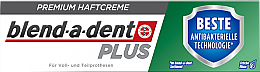 Парфюмерия и Козметика Фиксиращ крем за зъбни протези - Blend-A-Dent Premium Adhesive Cream Plus Dual Protection Fresh