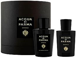Парфюмерия и Козметика Acqua di Parma Sandalo - Комплект (парф. вода/100ml+душ гел/200ml)