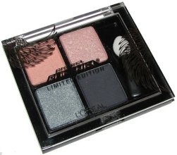 Парфюми, Парфюмерия, козметика Сенки - L'oreal Paris Studio Secrets Project Runway Pressed Eyeshadow Quad