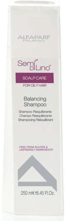 Шампоан за мазна коса - AlfaParf Semi Di Lino Scalp Care Balancing Shampoo — снимка N1