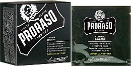 Парфюмерия и Козметика Освежаващи кърпички за лице и брада - Proraso Cypress & Vetyver Refreshing Tissues