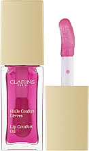Парфюмерия и Козметика Блясък за устни - Clarins Instant Light Lip Comfort Oil