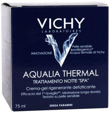 Нощен дълбоко хидратиращ крем-гел за лице - Vichy Aqualia Thermal Night SPA — снимка N3