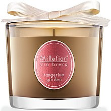 "Парфюмерия и Козметика Ароматна свещ ""Мандаринова градина"" - Millefiori Milano Via Brera Candle Tangerine Garden"